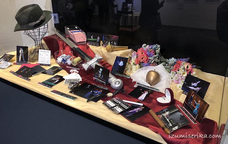 宝塚歌劇殿堂での小道具展示