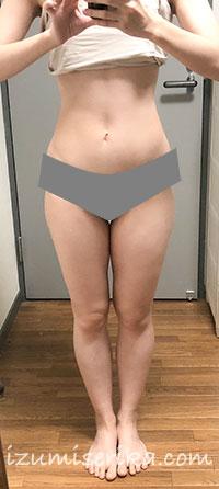 2020年2月の体型
