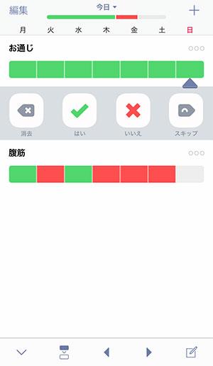 習慣記録アプリWay of Lifeの使い方